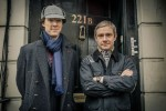 Sherlock and Watson (© Robert Viglasky/Hartswood Films for MASTERPIECE)