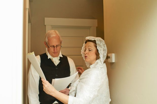 """""""My parents, the honorable Mr. and Mrs. Bennet."""""""