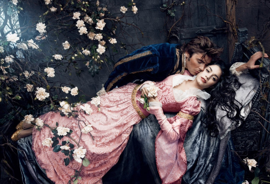 Zac Effron And Vanessa Hudgens As Prince Phillip And