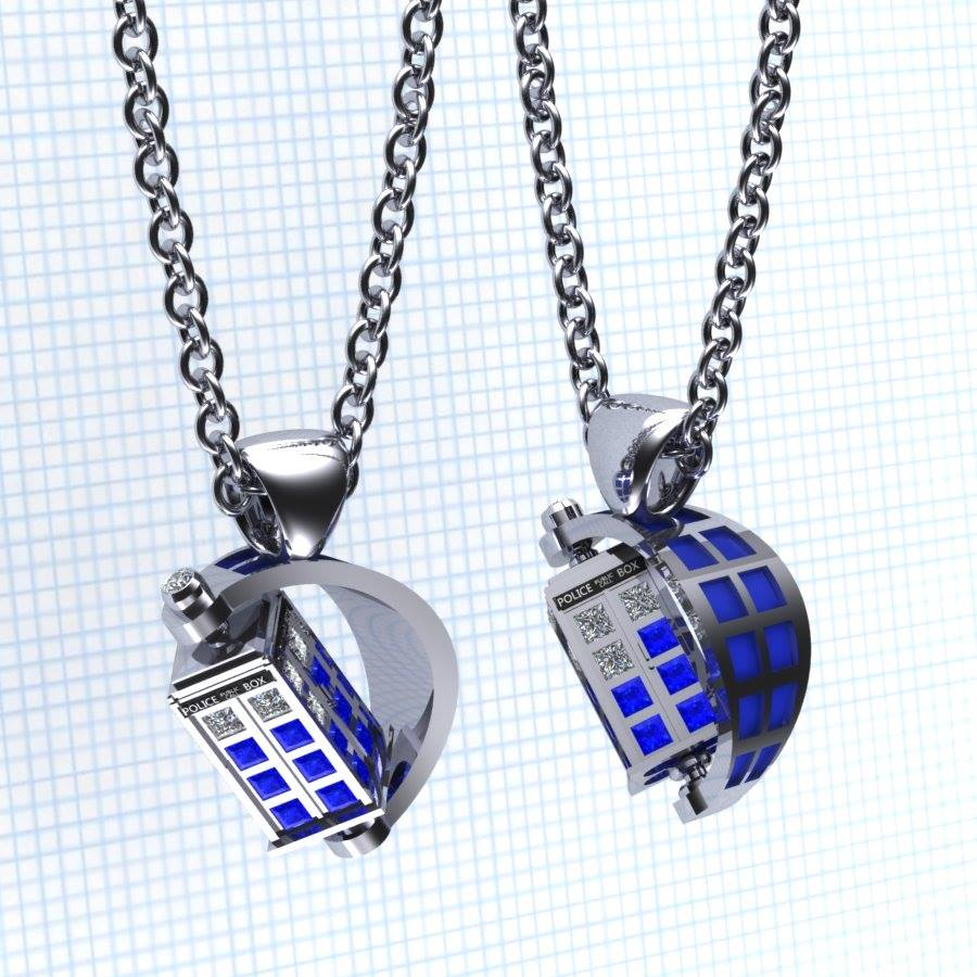 Geek Jewelry For Trekkies And Whovians By Paul Michael Design