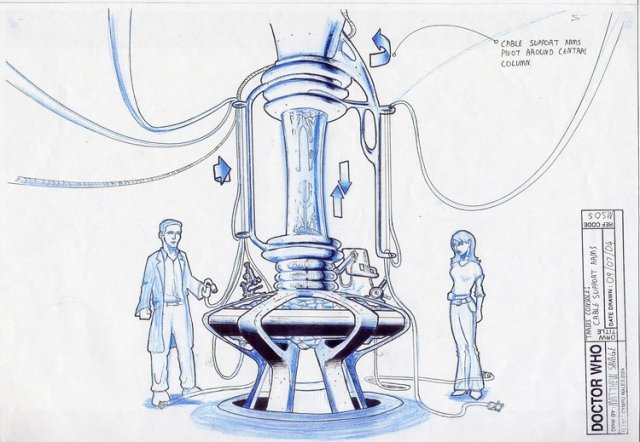 Matthew Savage Doctor Who Concept Art