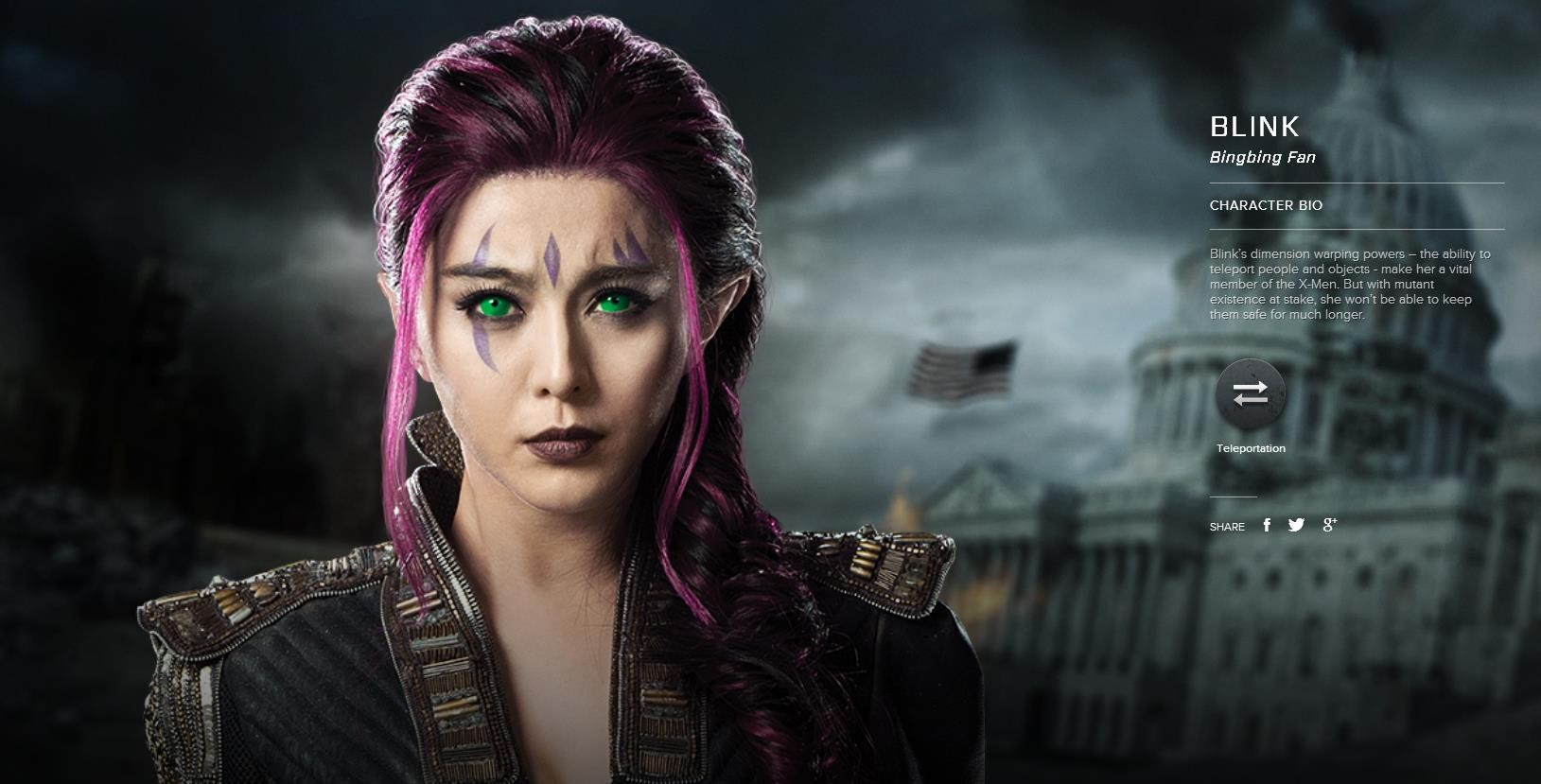 X Men Blink Bingbing