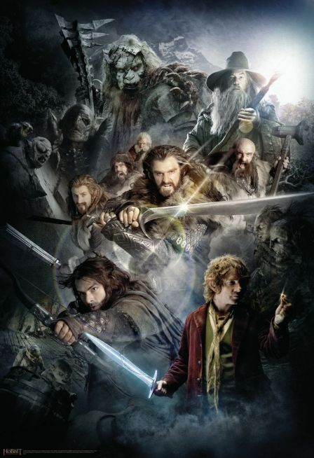 Character Montage_The Hobbit