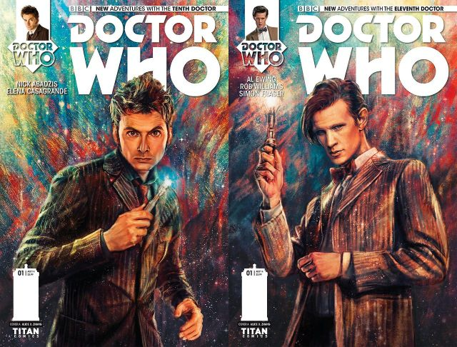 Doctor Who Covers by Alice X Zhang