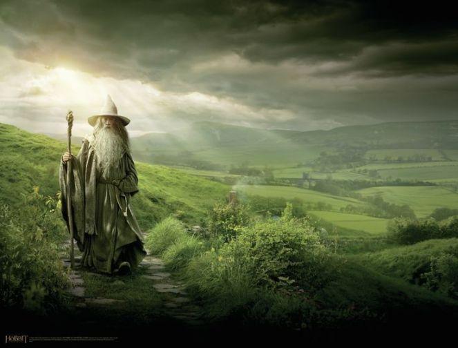 Gandalf in The Shire
