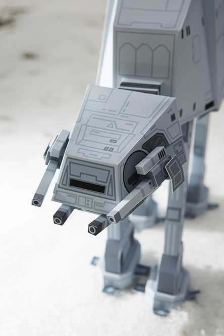 STAR WARS PAPER TOY3