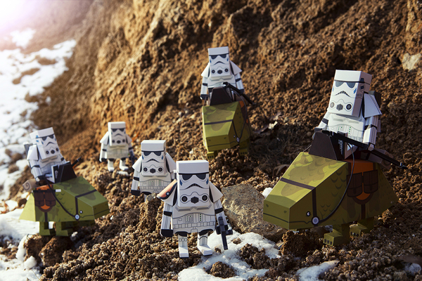 STAR WARS PAPER TOY4