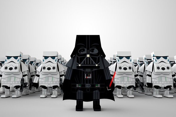 STAR WARS PAPER TOY8