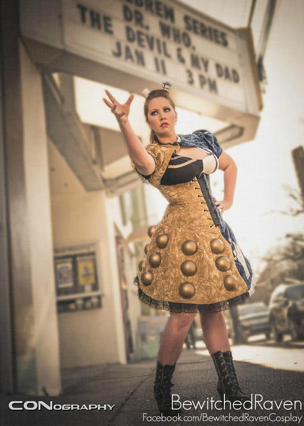 TARDIS/Dalek Dress