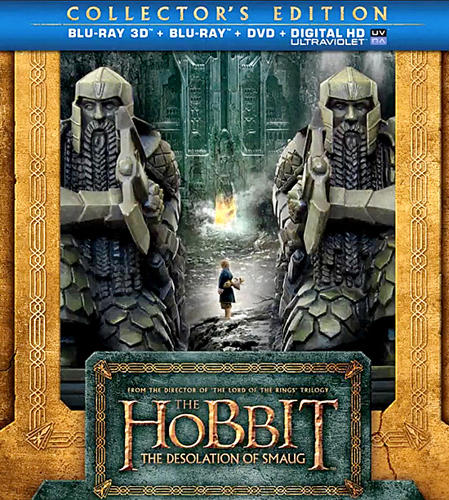 'The Hobbit: The Desolation of Smaug' Blu-ray and DVD ...