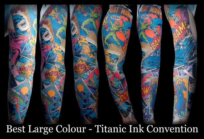 batman_comic_sleeve_by_ianinktattoo-d53kgck