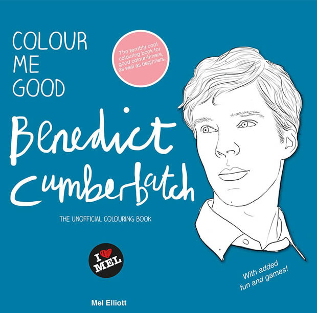 Benedict Cumberbatch_Coloring Book