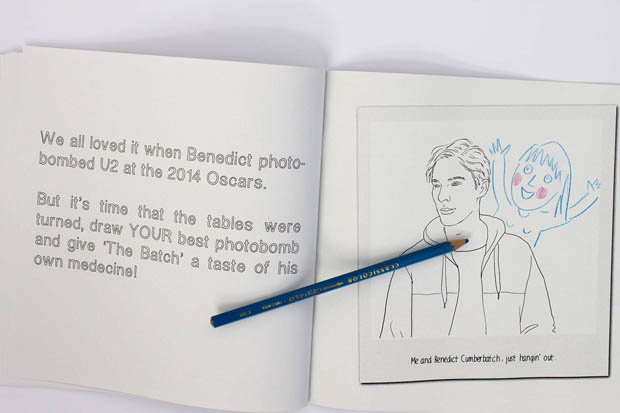 Benedict Cumberbatch_Coloring Book2