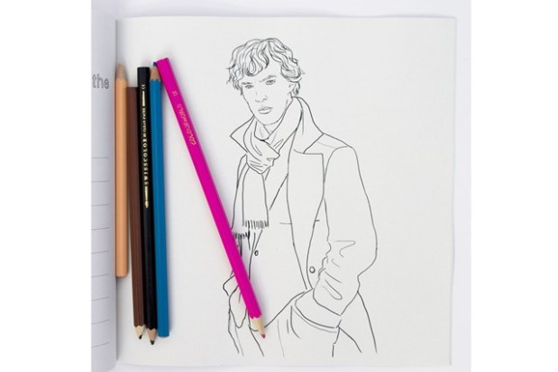 Benedict Cumberbatch_Coloring Book3