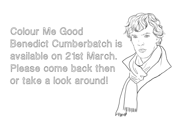 Benedict Cumberbatch_Coloring book5