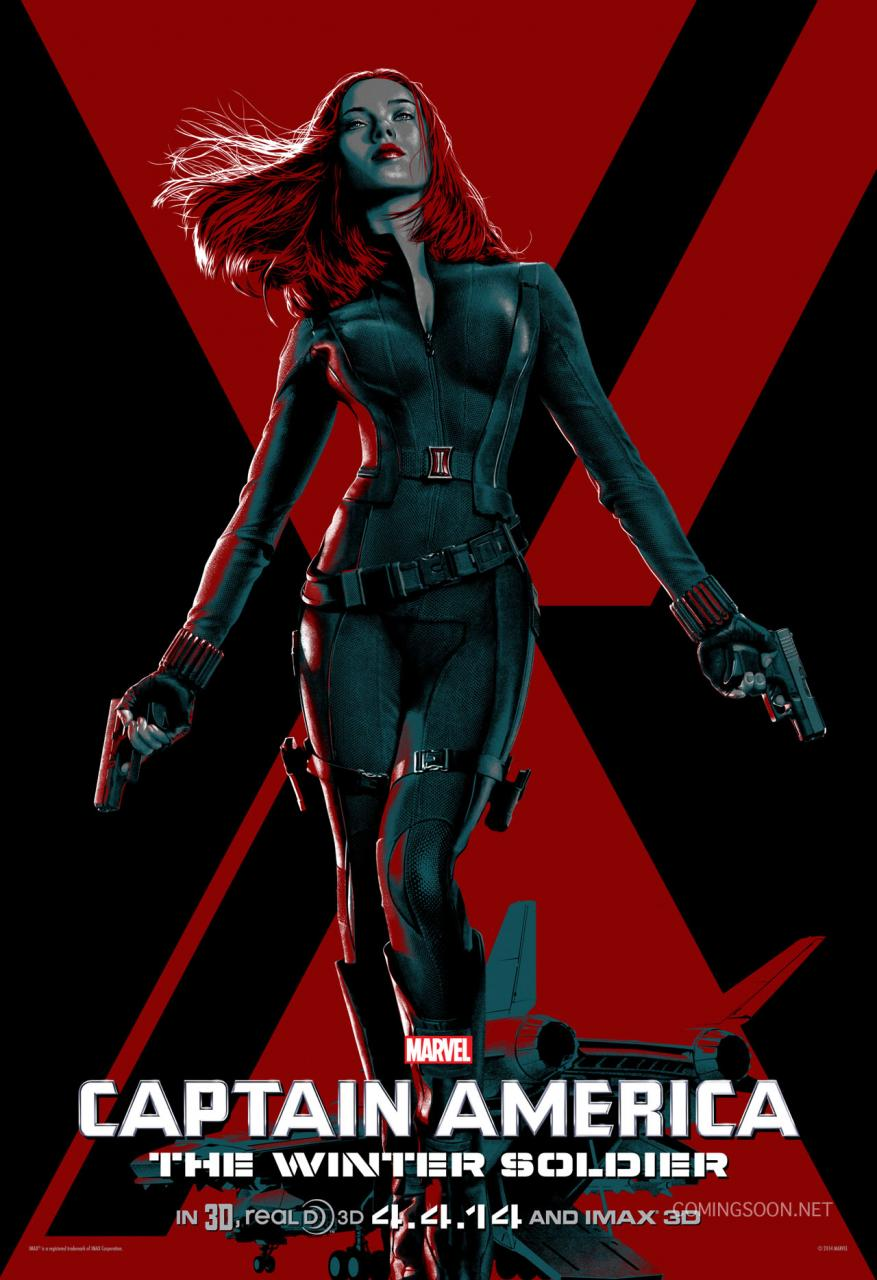 7 Stylized Character Posters For 'Captain America: The ...