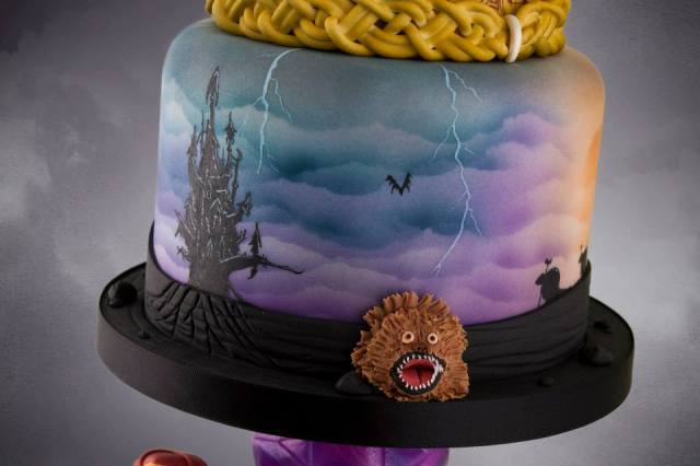 Dark Crystal cake (11)