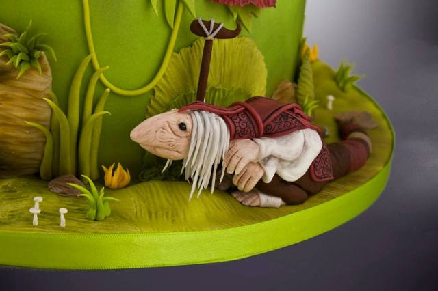 Dark Crystal cake (3)