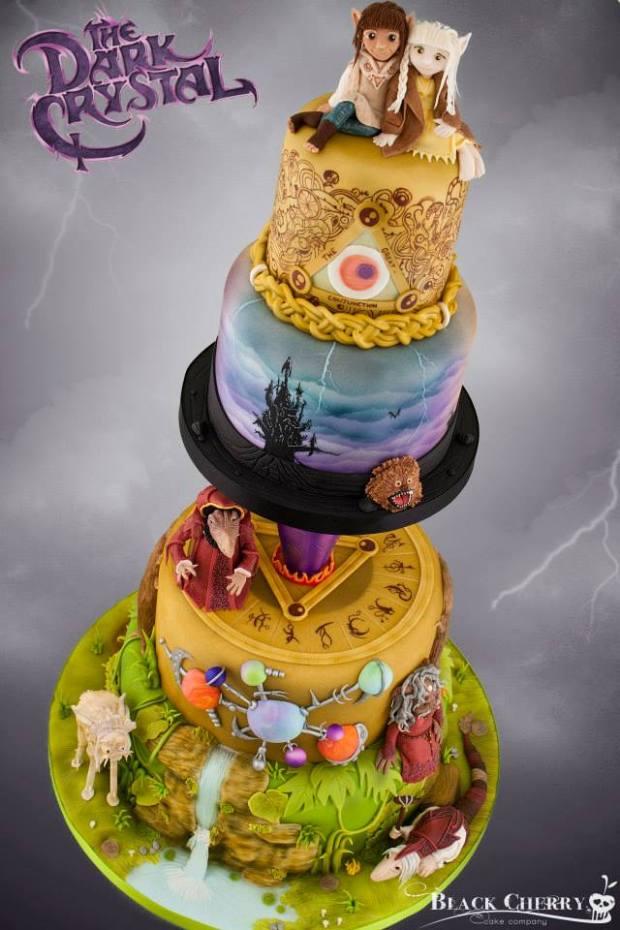 Dark Crystal cake (4)