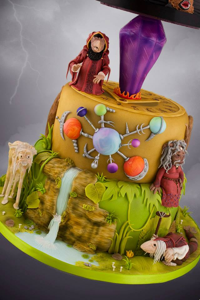 Dark Crystal cake (5)