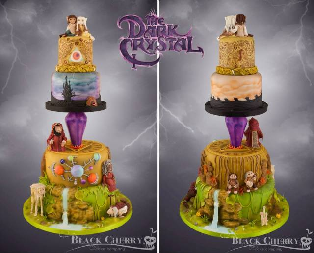 Dark Crystal cake (6)