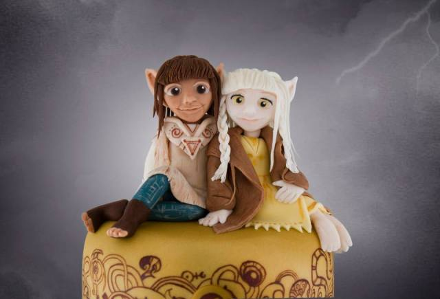 Dark Crystal cake (7)