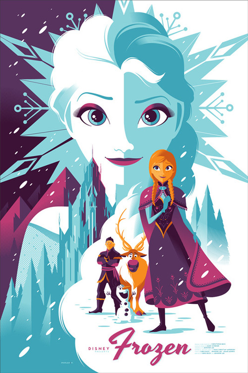 Mondos Poster For Frozen