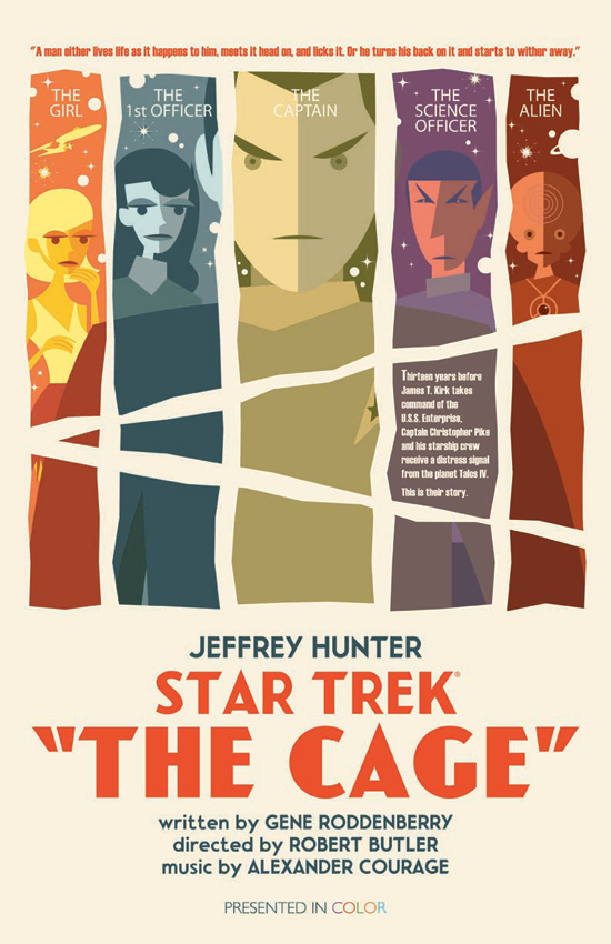 Star Trek: The Original Series - The Cage by Juan Ortiz
