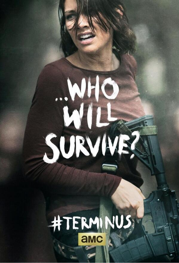 'The Walking Dead' Season 4 Finale Poster: Will Maggie ...