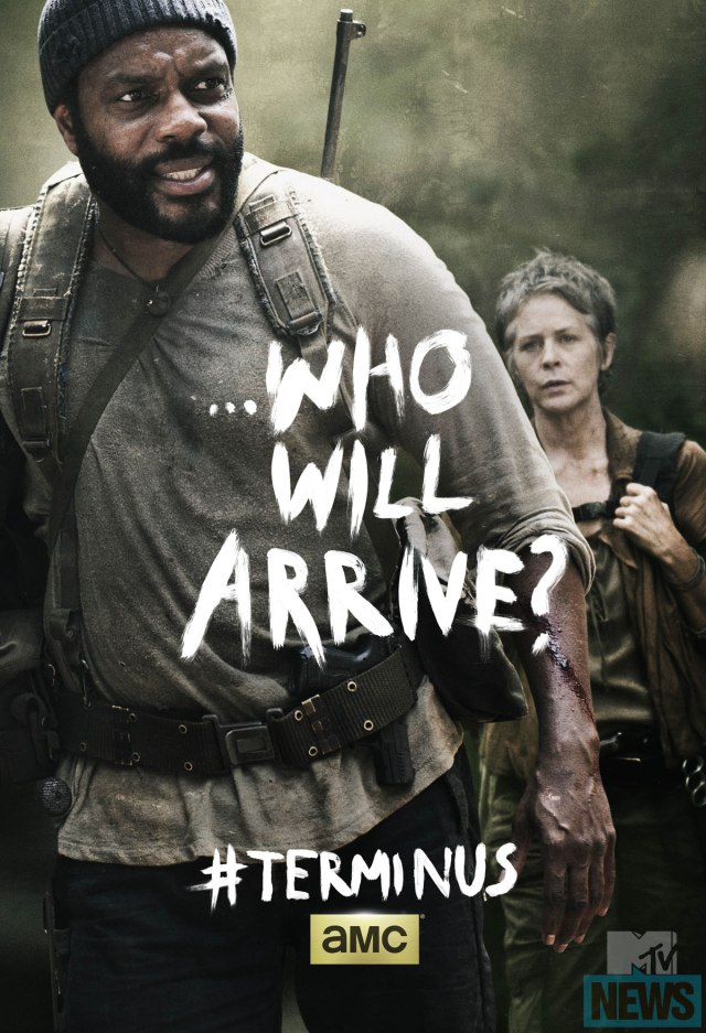 The Walking Dead Season 4 Poster_Tyreese and Carol