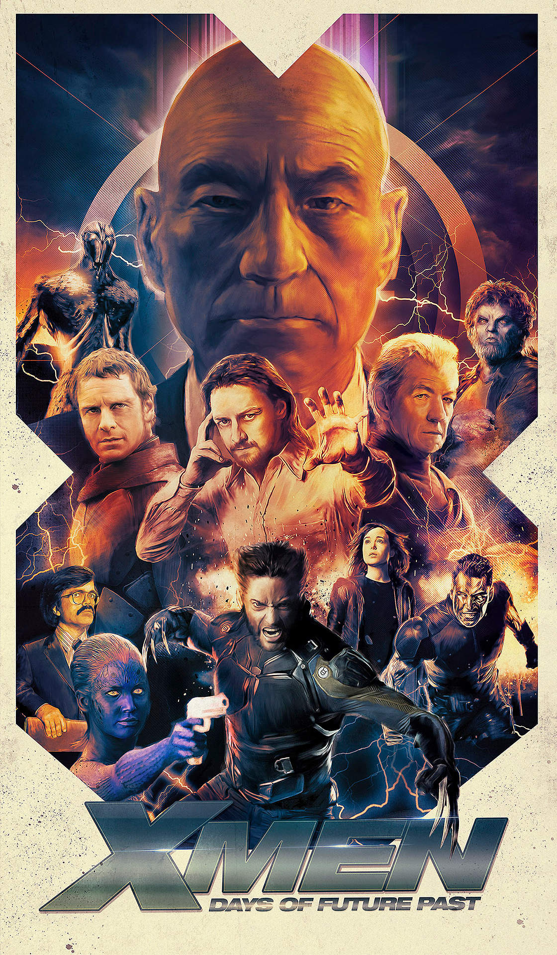 x men days of future past movie poster - x-men: days of future past