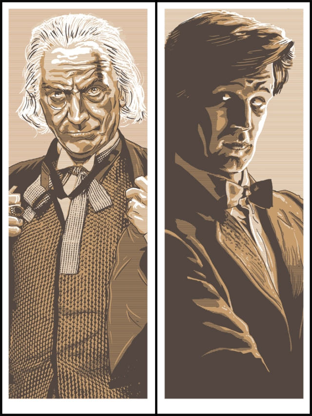 1st Doctor and 11th Doctor