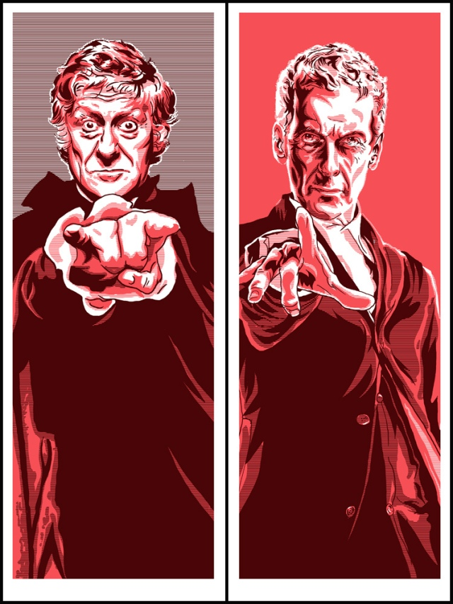 3rd Doctor and 12th Doctor