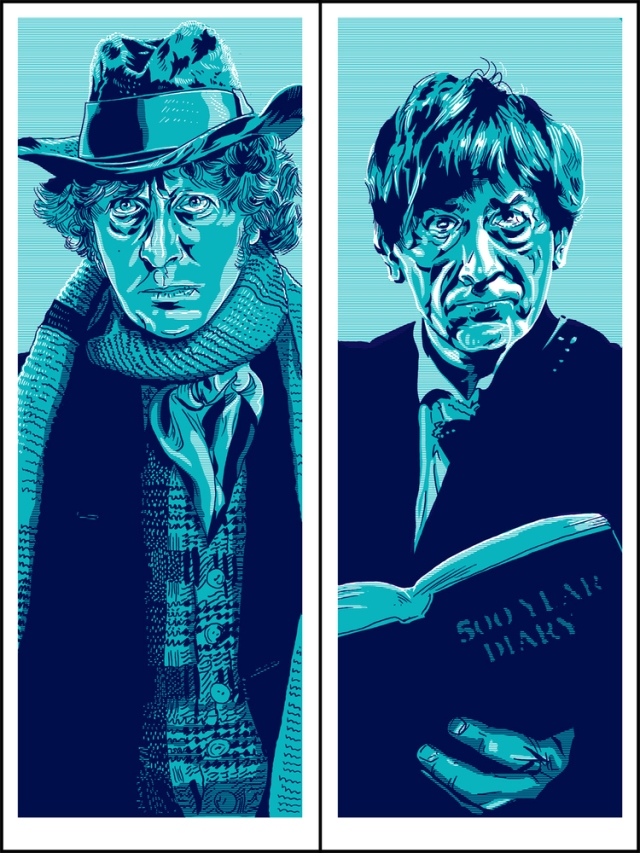4th Doctor and 2nd Doctor