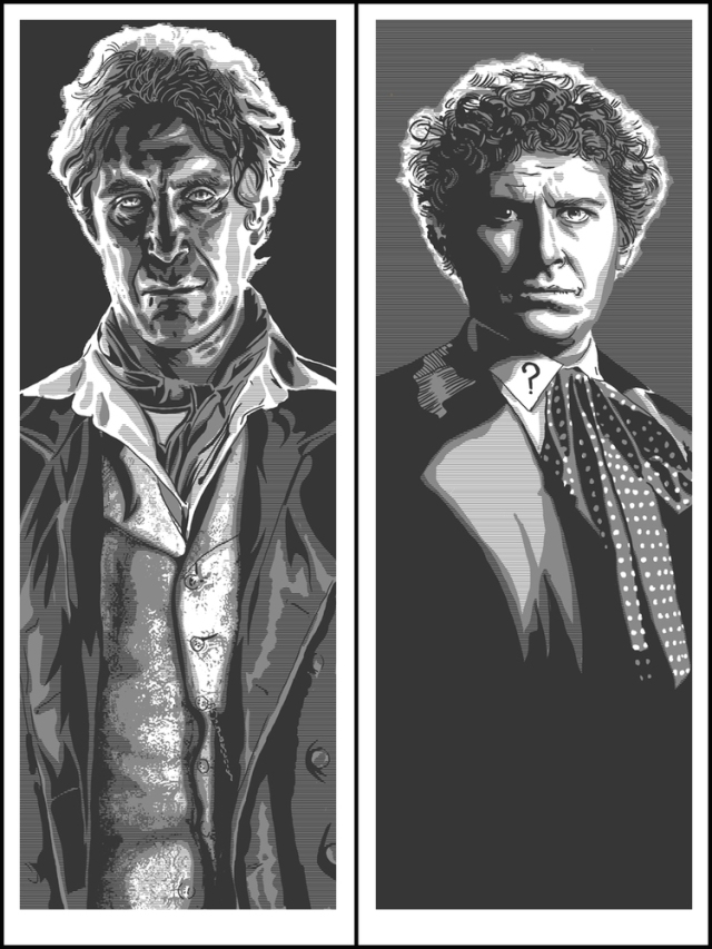 9th Doctor and 6th Doctor