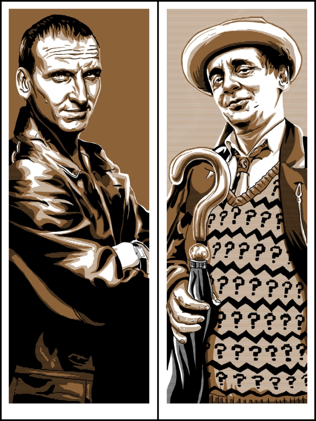 9th Doctor and 7th Doctor