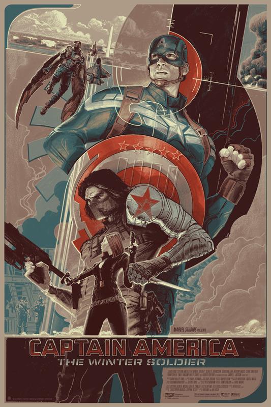 Captain America_The Winter Soldier_Mondo Poster