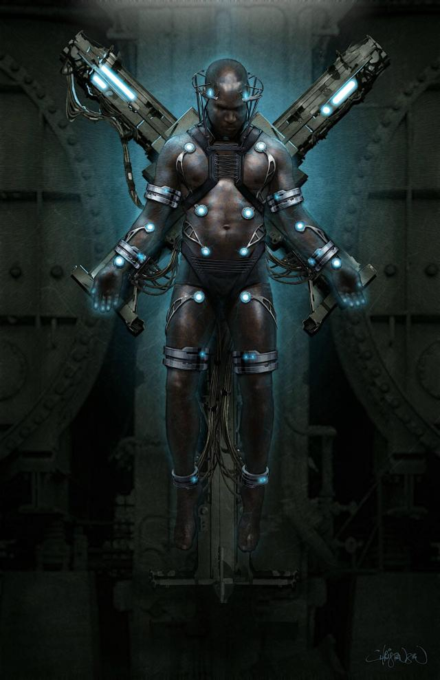 Electro Concept Art by Keith Christensen