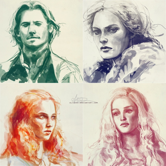 game_of_thrones_studies_by_alicexz-d3f9s5n
