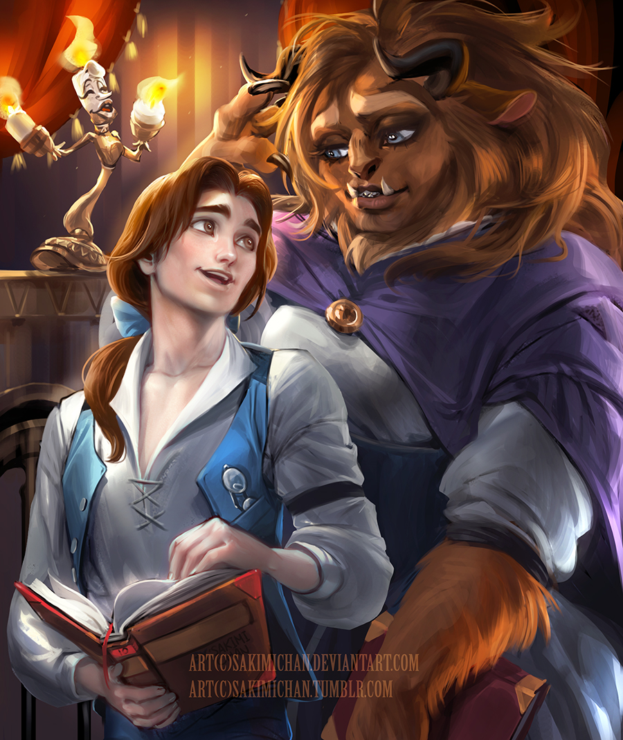Male Version Of Esmeralda Belle And Female The Beast