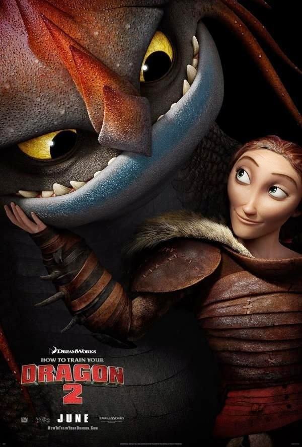 New Character Poster For How To Train Your Dragon 2 Featuring Hiccup S Mom