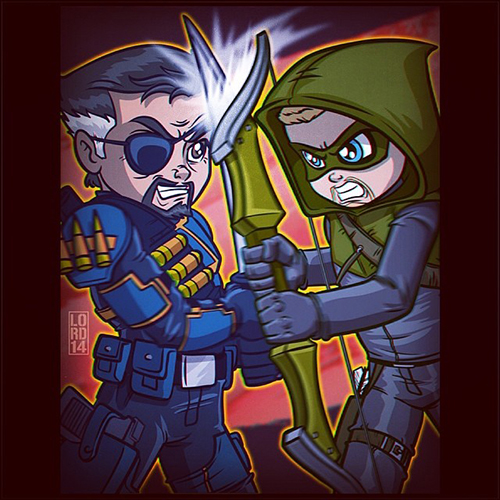 Slade and Ollie by Lord Mesa