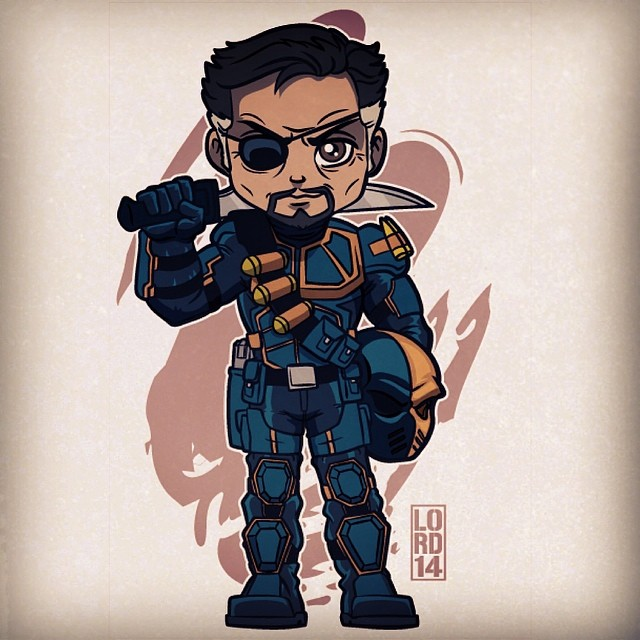 Slade Wilson by Lord Mesa