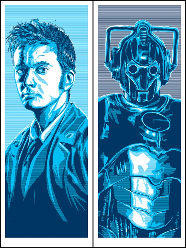 tenth doctor and cyberman