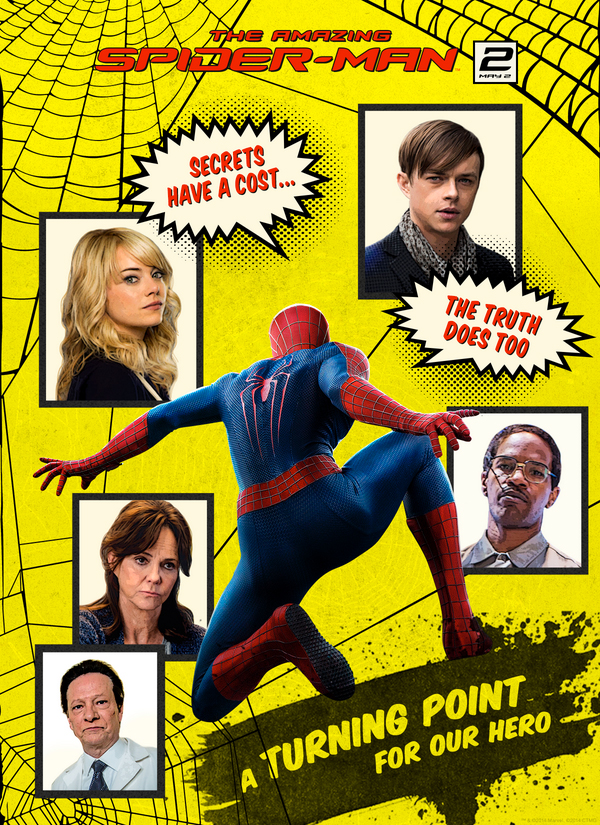 4ffb8a00a New Poster For  The Amazing Spider-Man 2  Pays Homage To Classic Comic Book  Cover – We Geek Girls