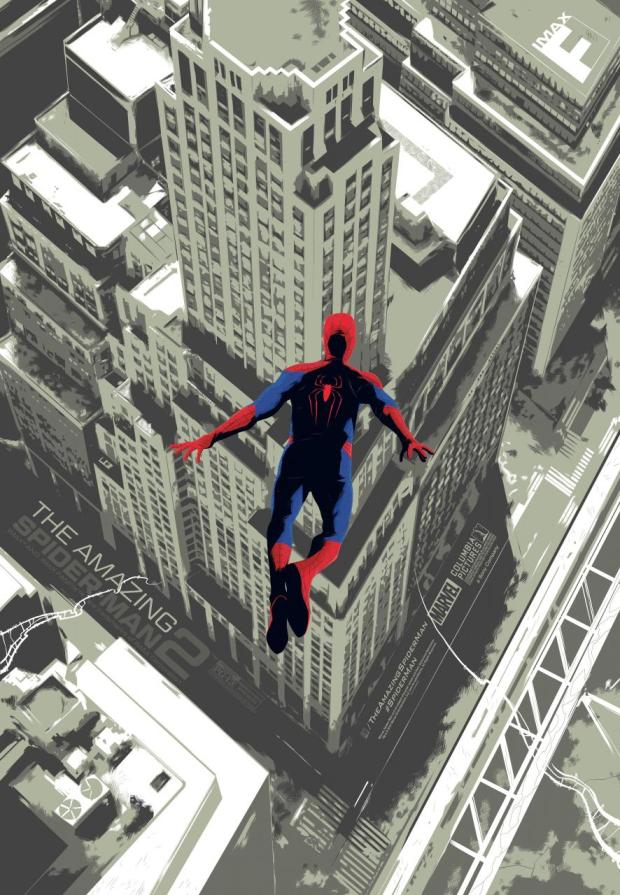 The_Amazing_Spider-Man_2_Imax Poster