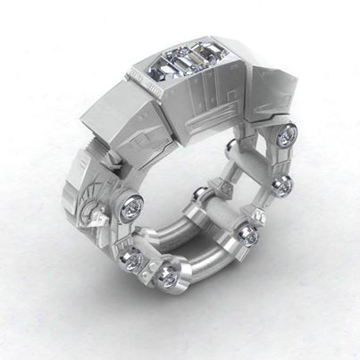 AT AT_The Empire Strikes Back_Ring by Paul Michael Design