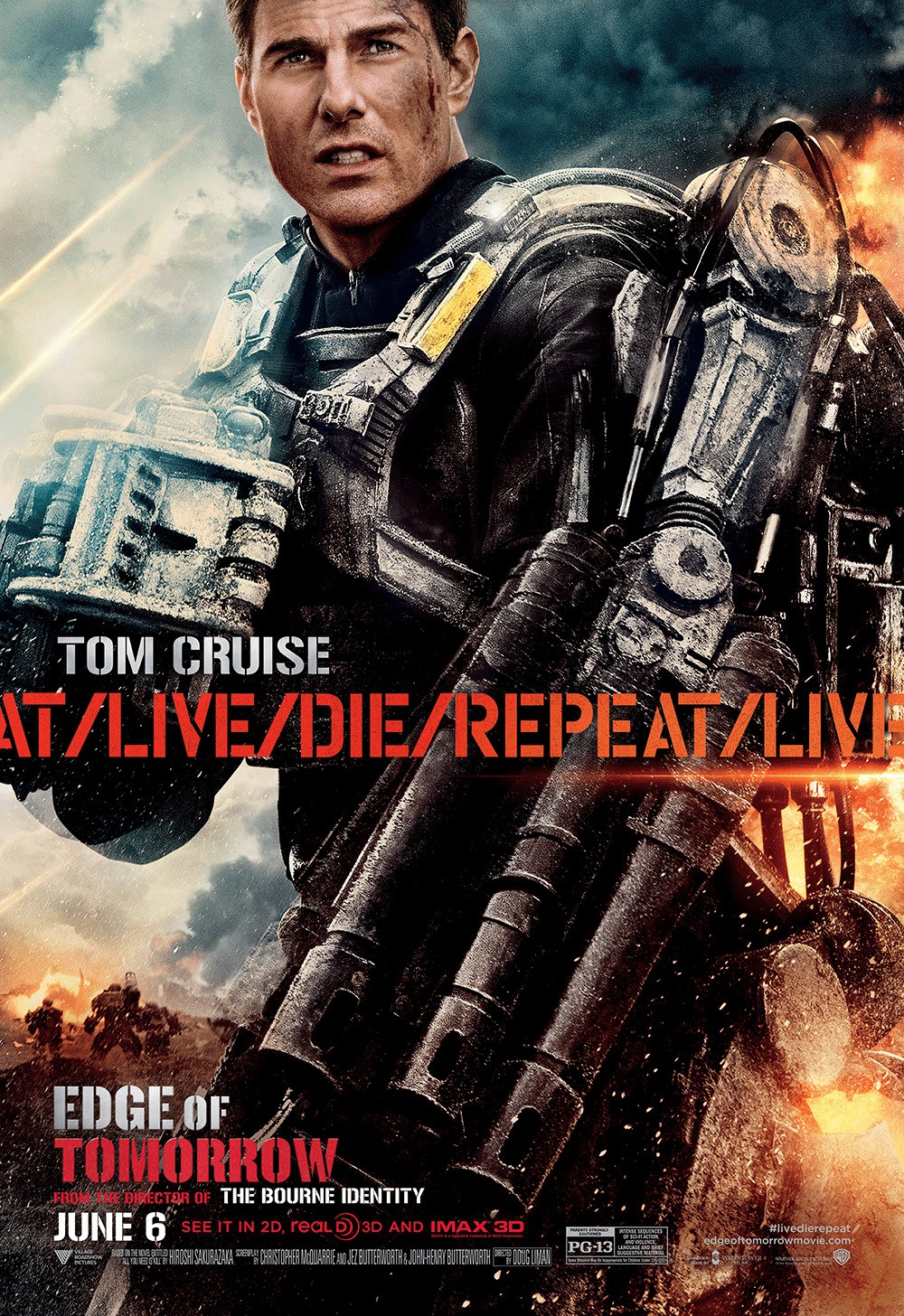 Two New Character Posters For 'Edge of Tomorrow' | We Geek ...