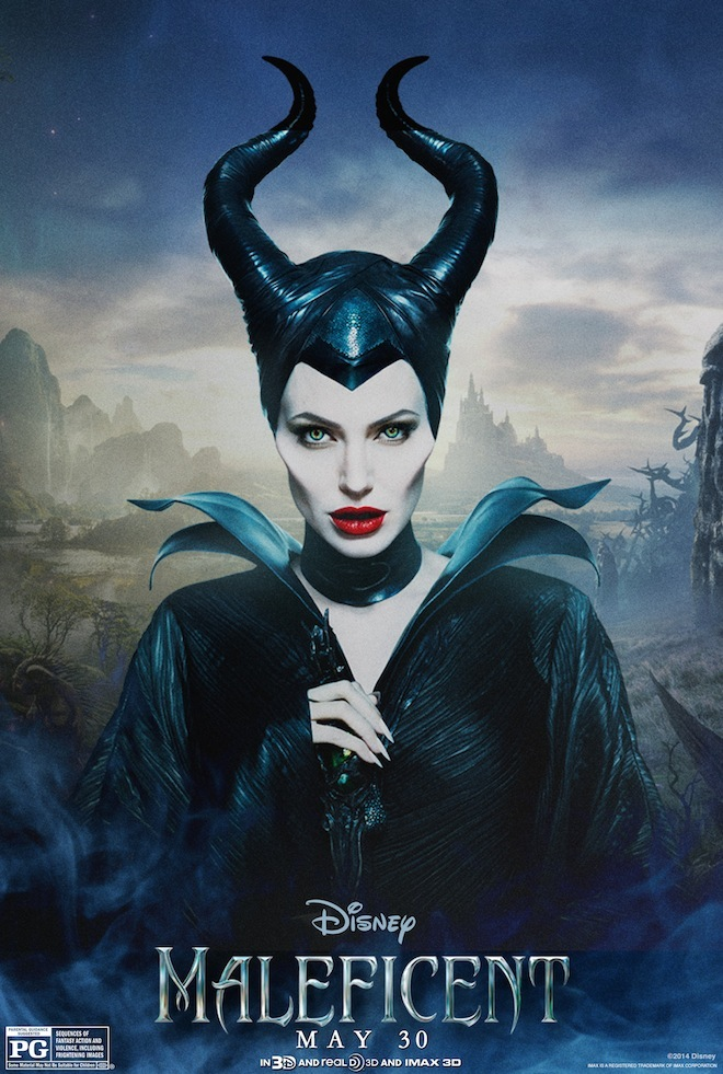 brand new character posters for 'Maleficent' featuring Maleficent ...