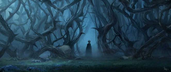 "Disney's ""MALEFICENT"" Conceptual Artwork ©Disney 2014"